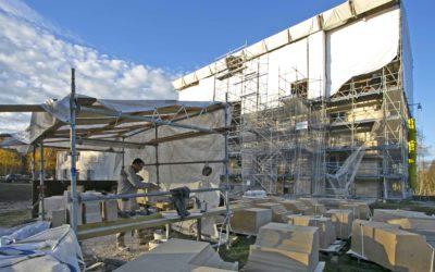 Restauration de la façade et des corniches